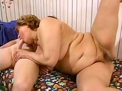 Smashing bbw fucks with boyfriend