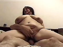 Oversexed fatty wants more and more