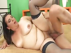 Experience with alluring fat mature