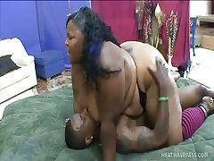 Haitian beauty gets ridden like animal