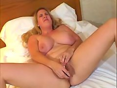 Fatty having orgasm solo
