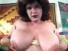 Shabby fatty shows off