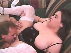 Chubby fatty fucks hard with friend